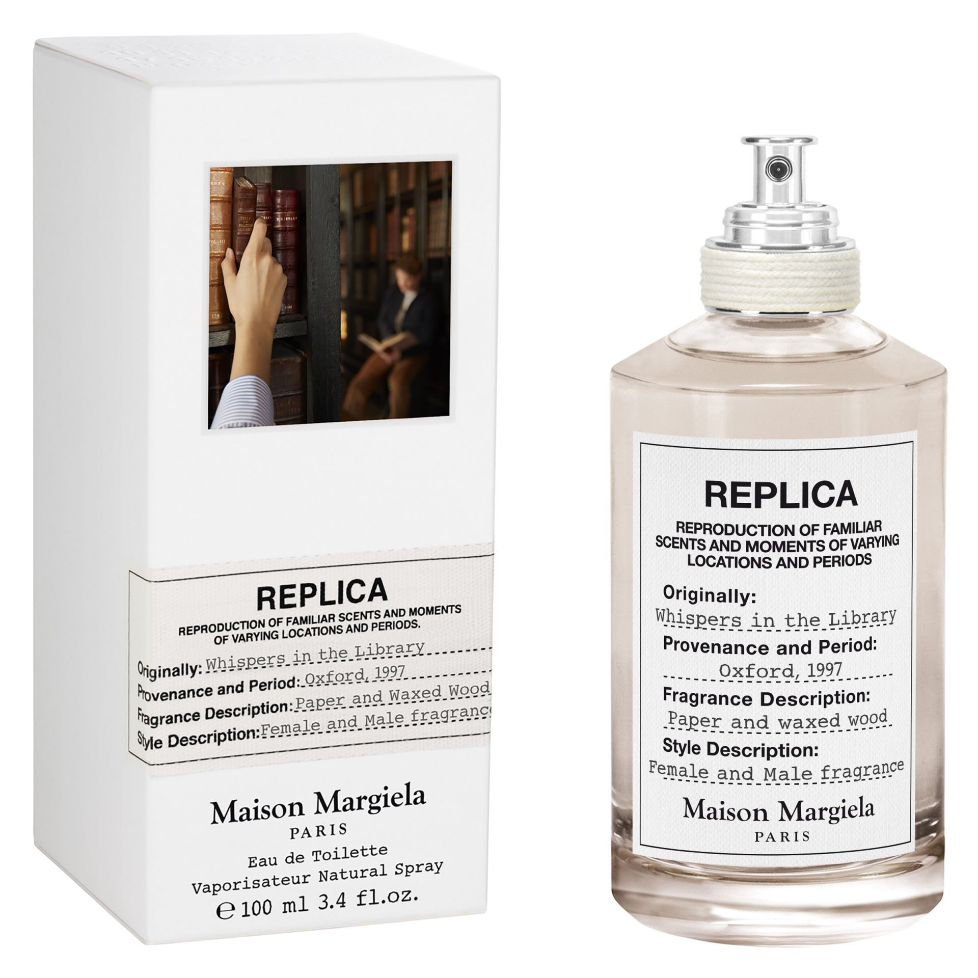 Whispers in the Library Maison Martin Margiela voor dames en heren