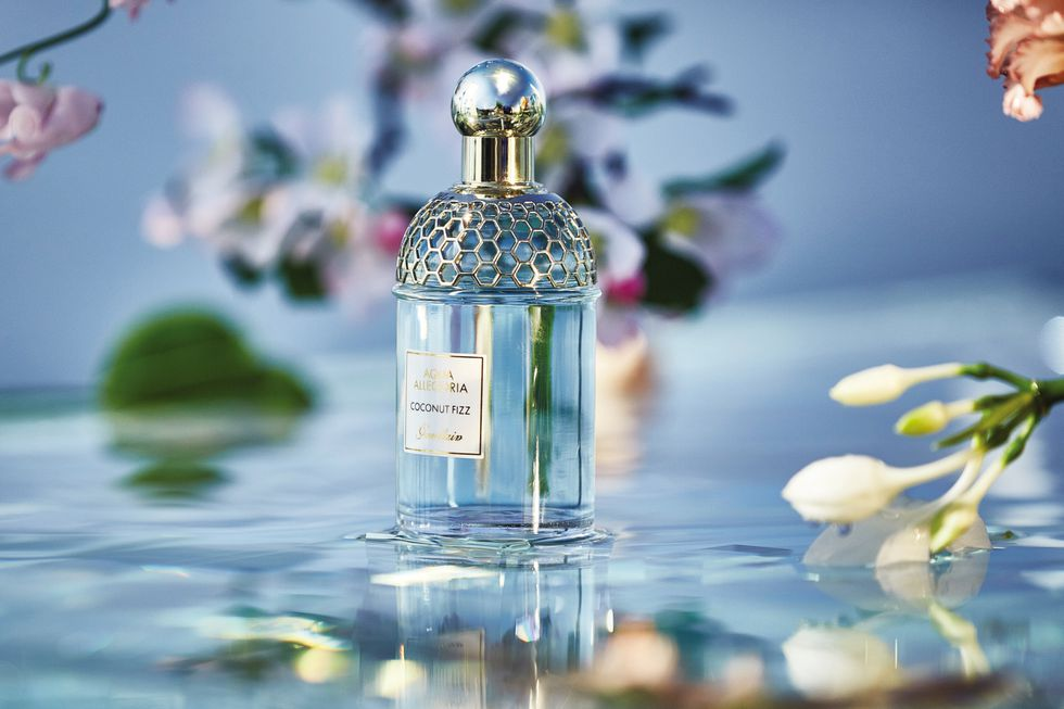 Aqua Allegoria Coconut Fizz Guerlain Perfume A New Fragrance For