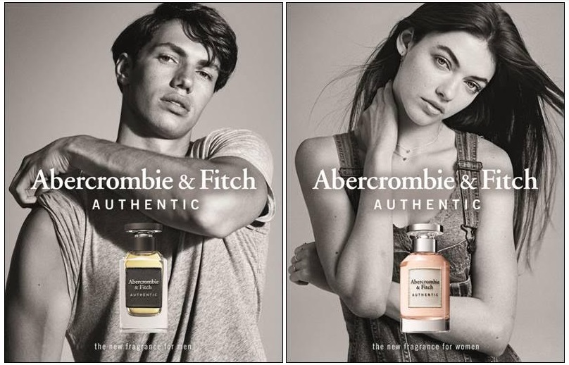 Authentic Man Abercrombie & Fitch for men