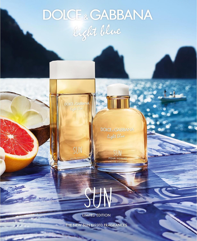 light blue sun dolce gabbana perfume a new fragrance for. Black Bedroom Furniture Sets. Home Design Ideas
