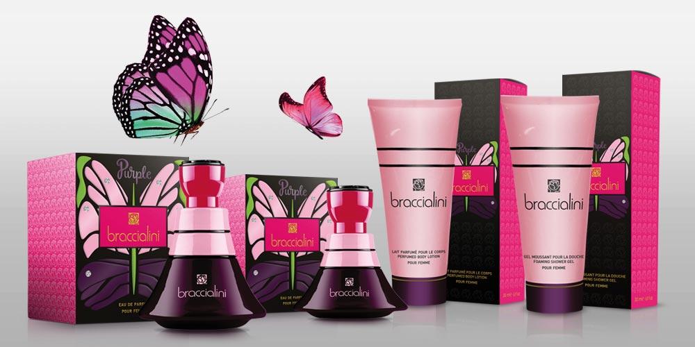 Purple Braccialini una fragranza da donna 2016