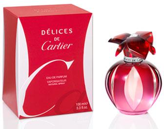 23c9521ea3a Delices De Cartier Eau de Parfum Cartier perfume - a fragrância ...
