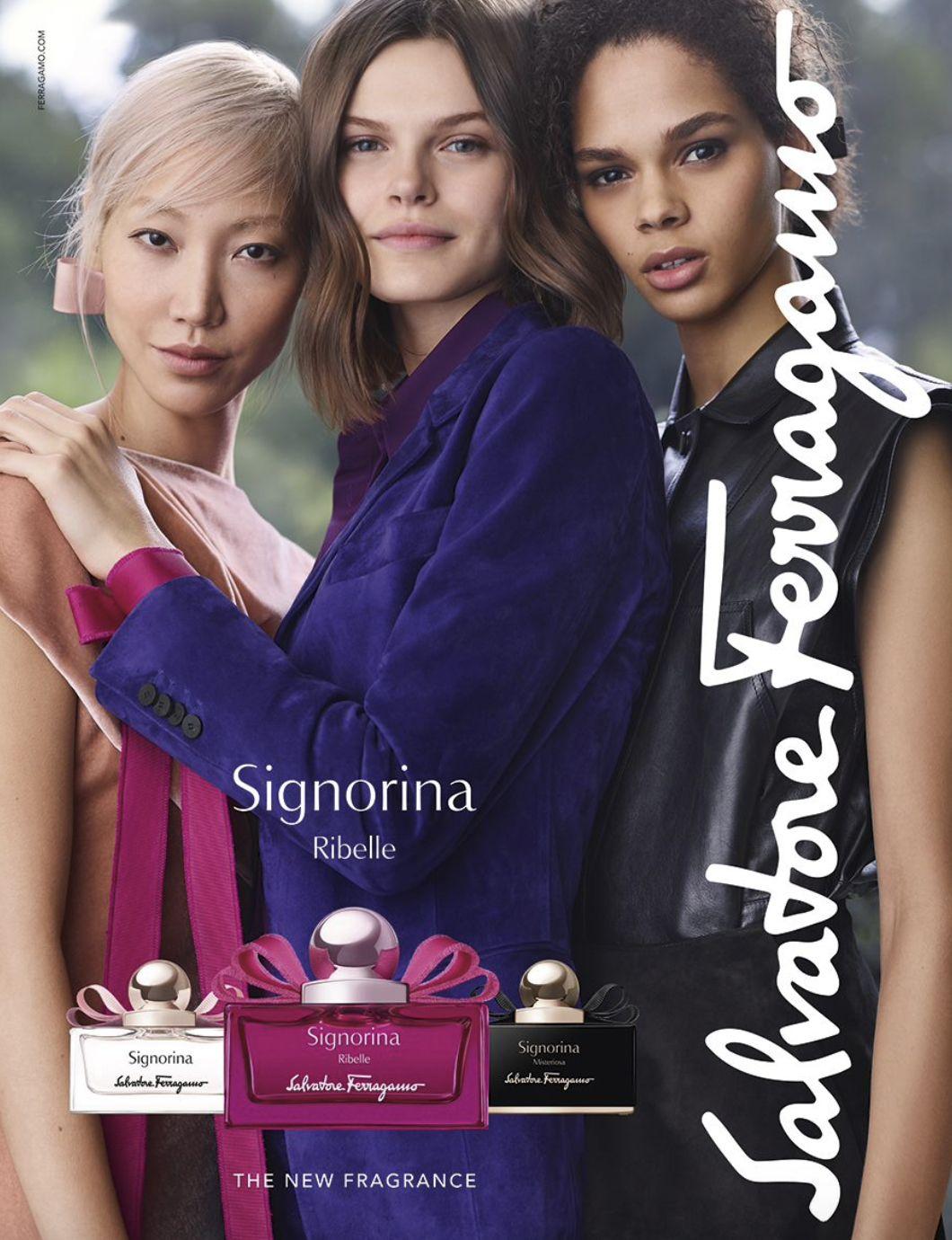 Signorina Ribelle Salvatore Ferragamo perfume - a new fragrance ...