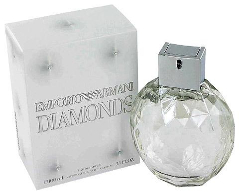 Giorgio Armani Emporio diamantes para mujer eau de toilette Spray, 3.4 ounce