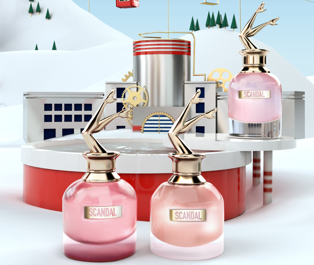 scandal collector 39 s snow globe edition jean paul gaultier perfume a new fragrance for women 2019