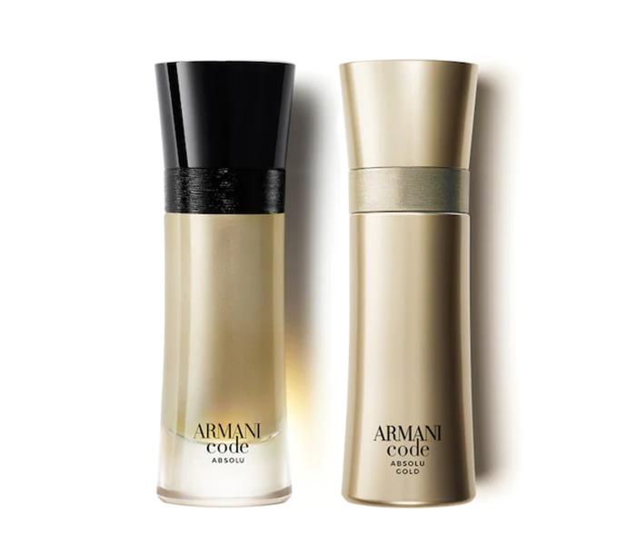 Armani Code Absolu Gold Giorgio Armani cologne a new fragrance for men 2020