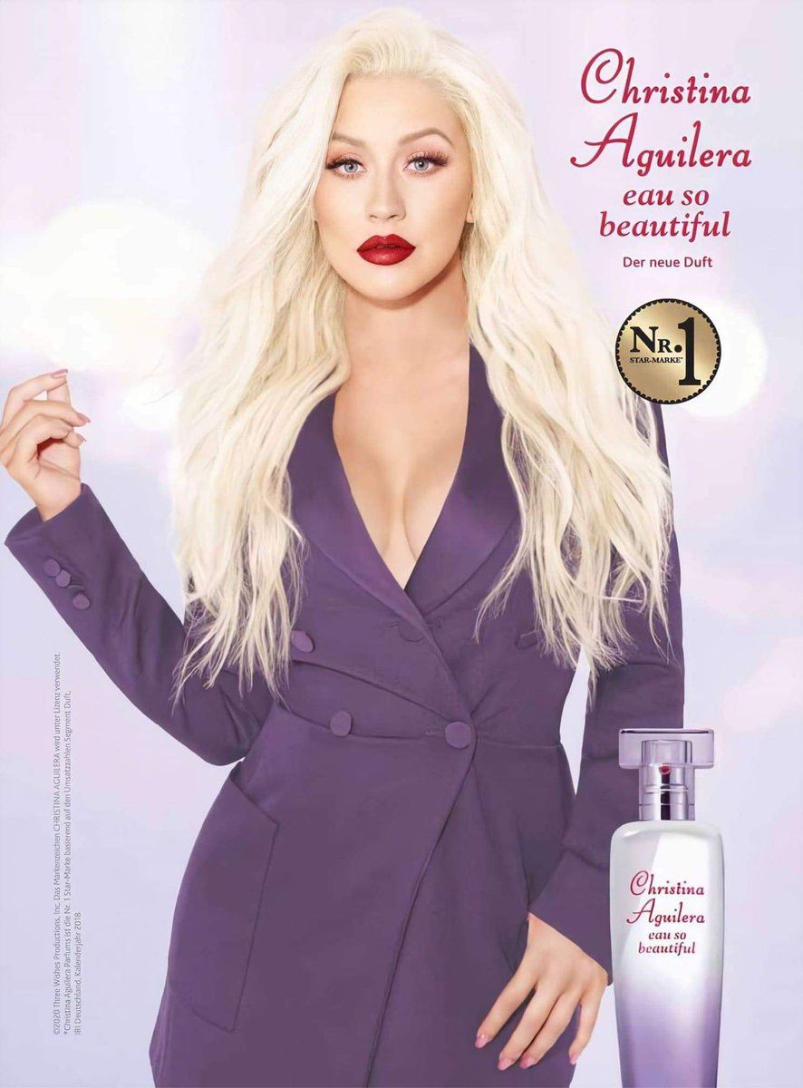 Eau So Beautiful Christina Aguilera Parfum   ein neues Parfum für ...