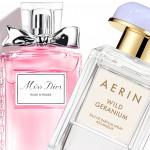 Roses and Geranium in the New year – Miss Dior Rose N Roses   Aerin Wild Geranium
