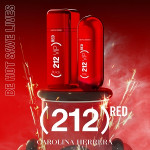 Carolina Herrera 212 VIP Rosé Red: The Color of Excitement