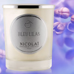 BLEU LILAS Candle by Nicolai Parfumeur-Createur Paris
