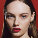 Fran Summers is the new face of Burberry Beauty