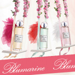 Blumarine Les Eaux Exuberantes: Cheers On The Terace, Kiss Me On The Lips, and Mon Bouquet Blanc