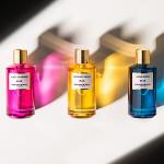 Mancera Rainbow Collection: Aqua Wood, Juicy Flowers, Midnight Gold