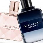 New Flankers by Givenchy: Irresistible Eau de Toilette, L Interdit Edition Milllesime, and Gentleman Eau de Toilette Intense
