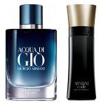 Giorgio Armani Is Cool Again: Code Eau de Parfum and Acqua di Giò Profondo Lights