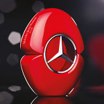 Mercedes Benz Woman In Red