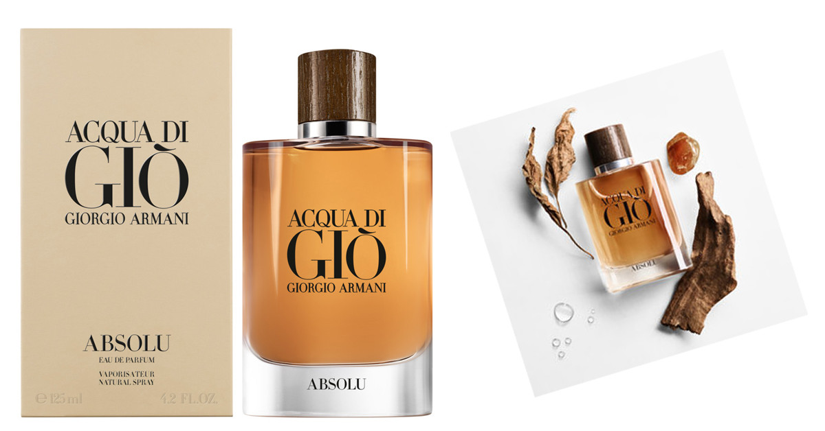 Get Back To Yourself Giorgio Armani Acqua Di Gio Absolu New