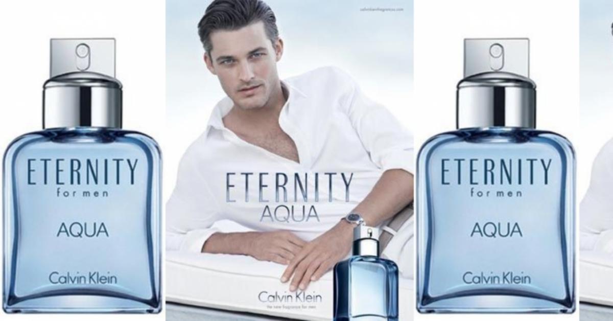 Calvin Klein Eternity Aqua for men ~ New Fragrances