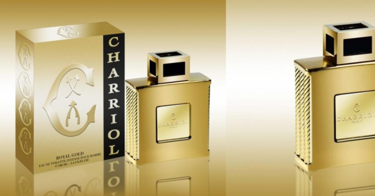 Charriol Royal Gold Eau De Toilette Intense New Fragrances