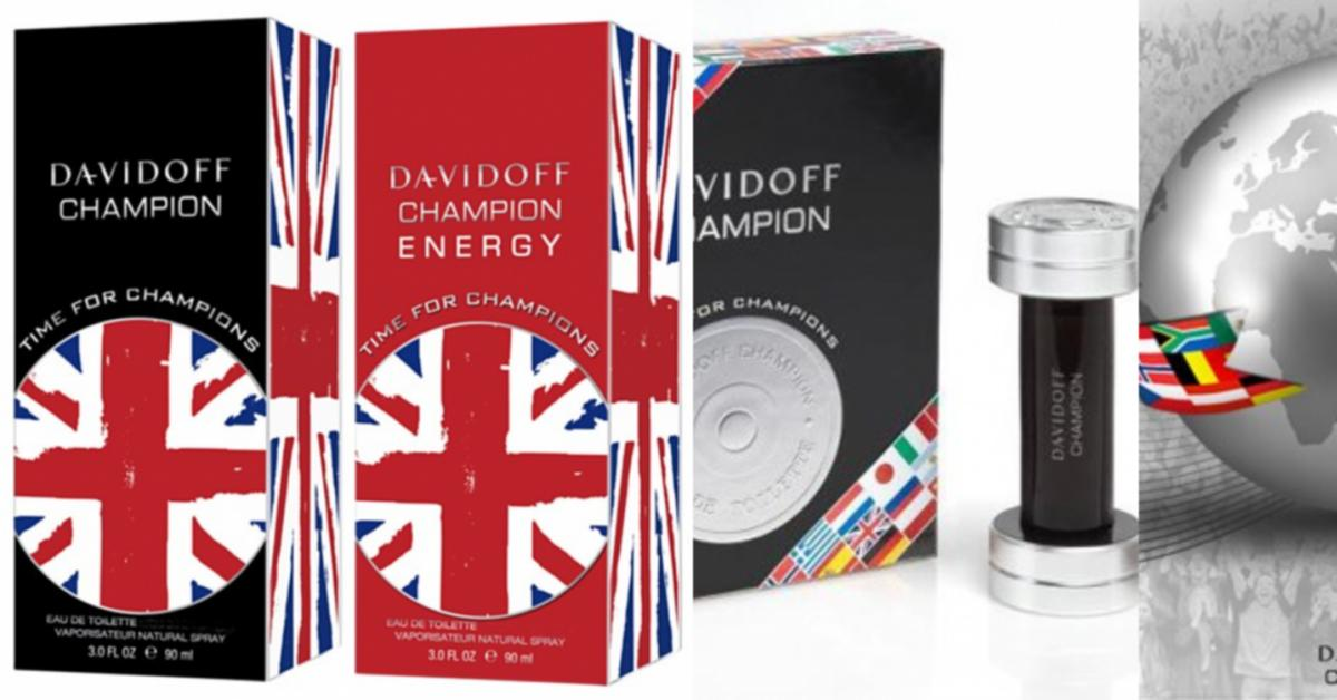 Davidoff Time For Champions New Fragrances
