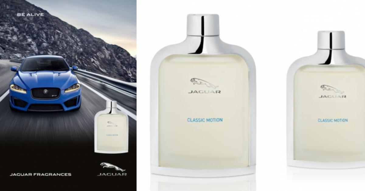 Jaguar Classic Motion ~ New Fragrances