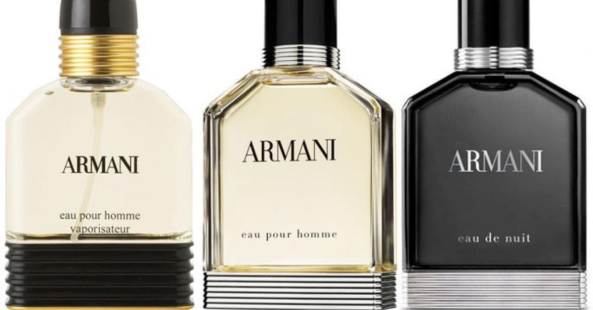 0cc36200d1 Armani Eau d'Aromes ~ New Fragrances