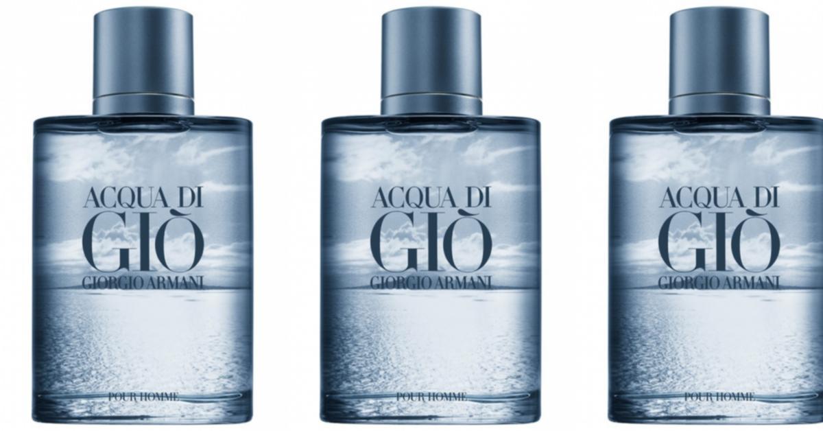 6fe6be7aab0b25 Giorgio Armani Acqua di Gio Blue Edition Pour Homme ~ New Fragrances