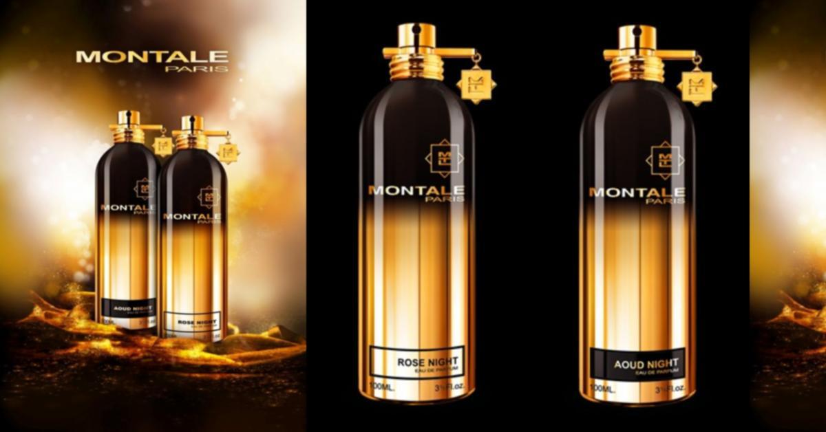 Montale Aoud Night, Montale Rose Night ~ Niche Perfumery