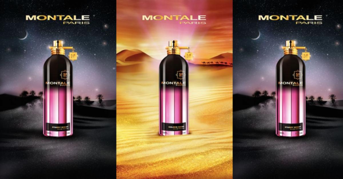 Montale Golden Sand, Starry Night ~ Niche Perfumery