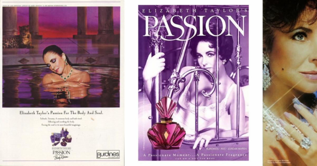 Gender Bender Passion By Elizabeth Taylor 1987 Fragrance Reviews