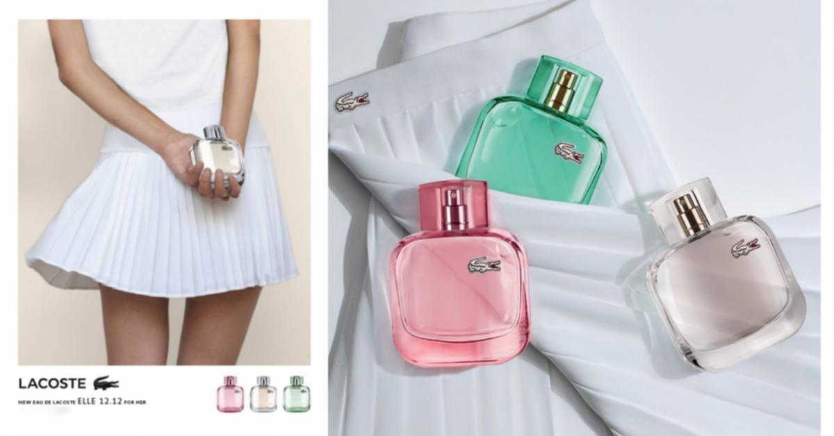 Lacoste Eau de Lacoste L.12.12 Pour Elle ~ New Fragrances