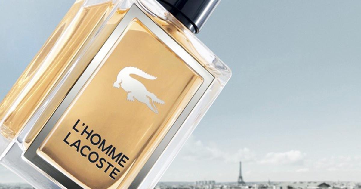 4c9a5af1f L'Homme العطر الجديد من لاكوست ~ إصدار جديد