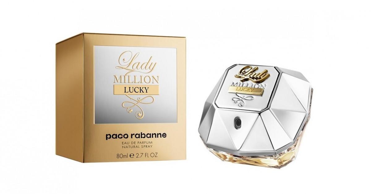 7804e6a9b العطور الجديدة من باكو رابان One Million Lucky & Lady Million Lucky ~ إصدار  جديد
