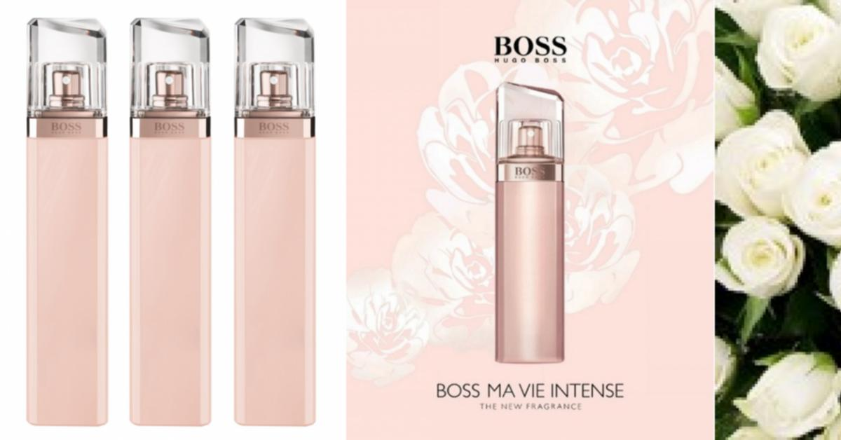 Boss Ma Vie Pour Femme Intense De Hugo Boss Nuevas Fragancias