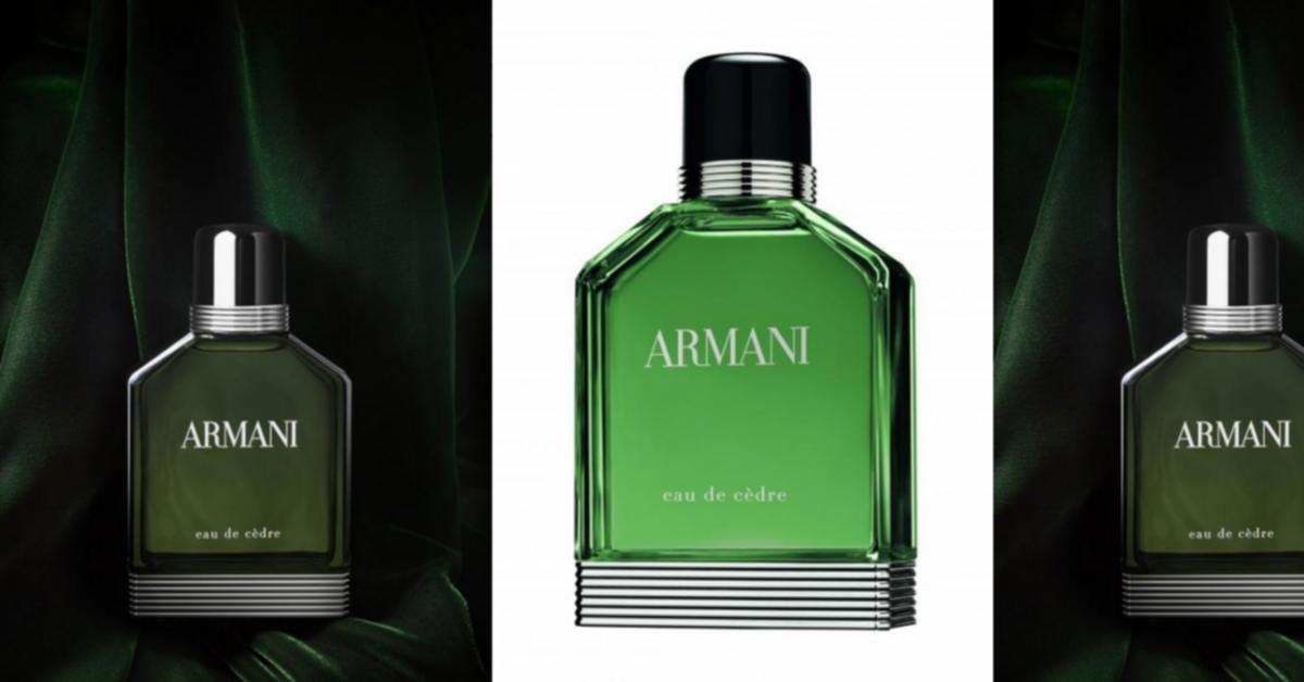 De Armani Cèdre ~ Parfums Eau Nouveaux n0P8wOk