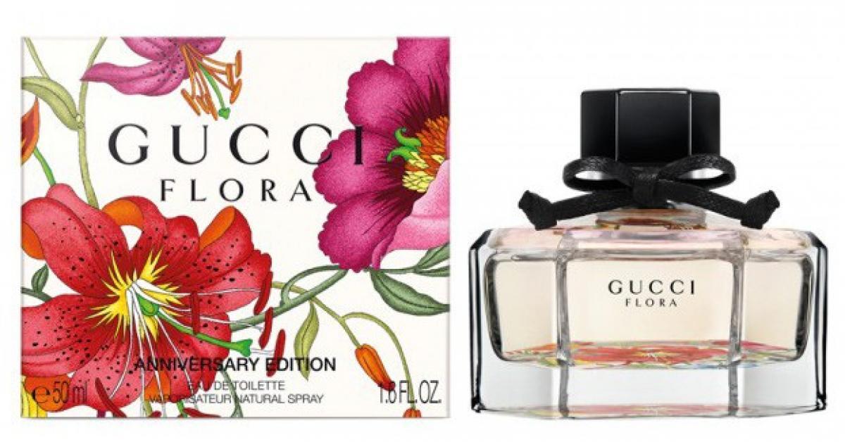 da4a8d1df3 La Fragranza che Celebra il 50° Anniversario della Stampa Floreale Gucci:  Flora by Gucci Anniversary Edition ~ Nuove Fragranze