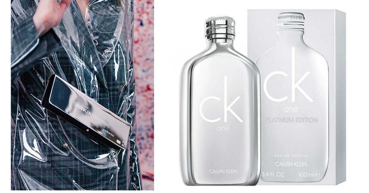 27ef698d1f1bf Calvin Klein ck one Platinum Edition ~ Novas fragrâncias