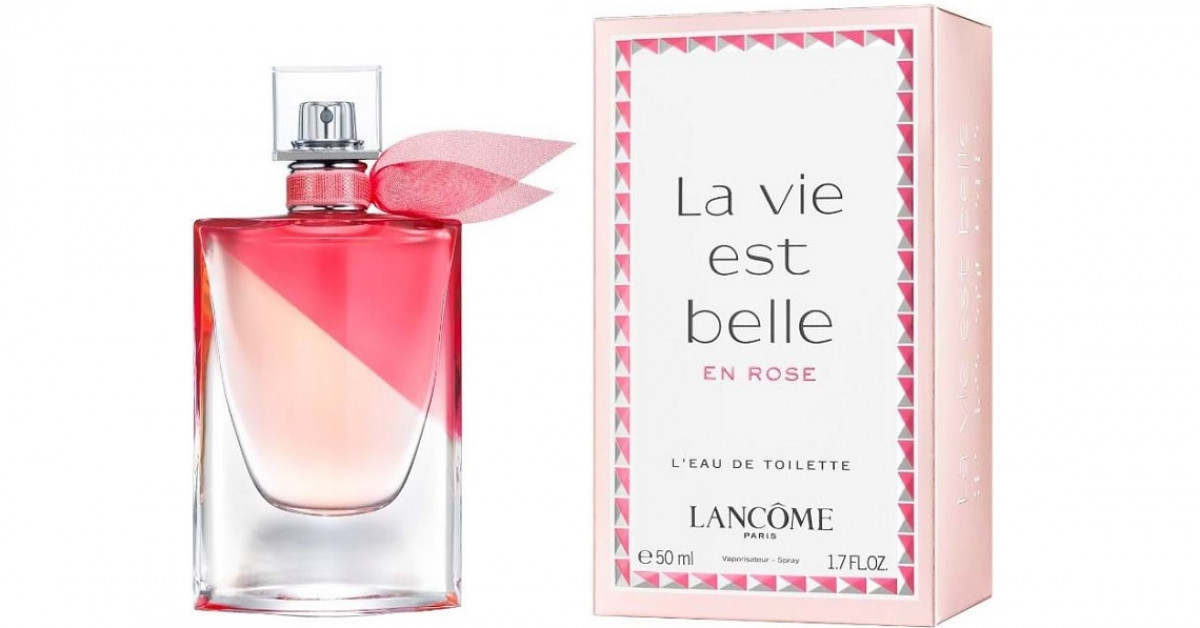 Lancome La Vie est Belle en Rose ~ Novas fragrâncias 542df256e30