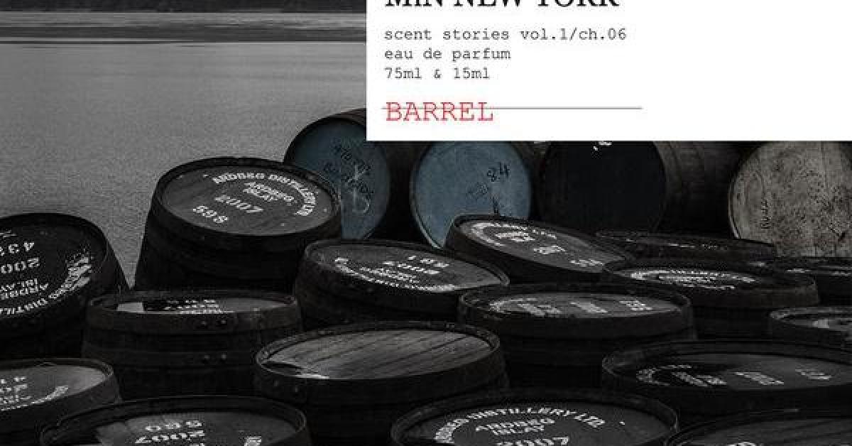 Barrel MiN New York: Бочка с черной душой ~ Обзоры ароматов