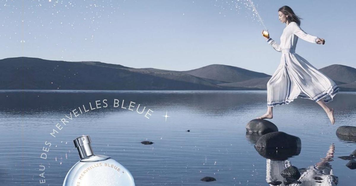 Eau des Merveilles Bleue Hermes: Запах прозрачной морской ...