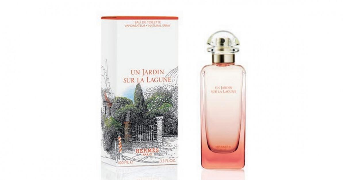 Hermès Un Jardin Sur La Lagune ~ Новые ароматы