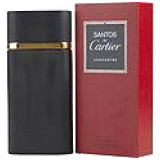 "Santos De Cartier by Cartier Concentree EDT Spray 3.3 oz for Men"" style=""text-decoration: none; border: none;"" width=""80"